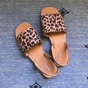 Forever 21 Cheetah Sandals